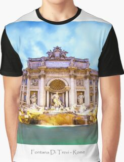 Fontana Di Trevi Graphic T-Shirt