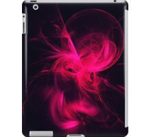 Pink Flame Fractal  iPad Case/Skin