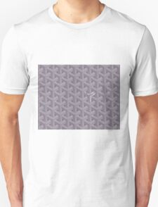 Goyard Perfect Case grey Unisex T-Shirt