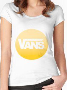 Vans #logo Women's Fitted Scoop T-Shirt