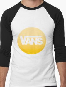 Vans #logo Men's Baseball ¾ T-Shirt
