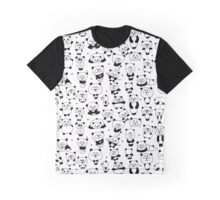 Funny panda family Graphic T-Shirt