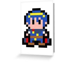 Pixel Marth Greeting Card