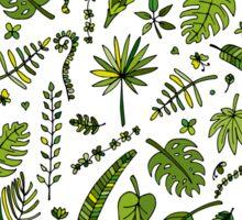 Floral seamless pattern Sticker