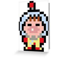 Pixel Olimar Greeting Card