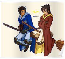 VOLTRON Quidditch Rivals Poster