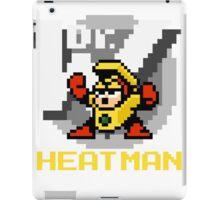 Heatman with text (Yellow) iPad Case/Skin