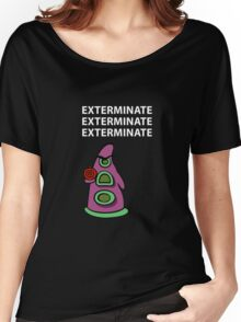 Exterminate/ day of tentacle Women's Relaxed Fit T-Shirt