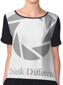 Aperture Science, Think Different Chiffon Top