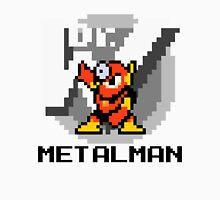 Metalman with text (Black) Unisex T-Shirt