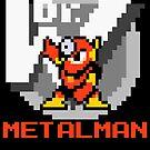 Metalman with text (Red) by Funkymunkey