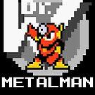 Metalman with text (White) by Funkymunkey