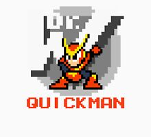 Quickman with text (Red) T-Shirt
