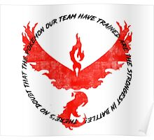 Team Valor Trained to be the Strongest Poster
