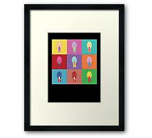 Ood Pop Art Framed Print