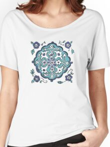 Abstract turkish pattern Women's Relaxed Fit T-Shirt