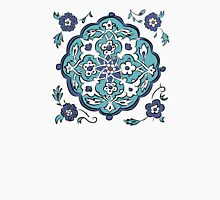 Abstract turkish pattern Women's Fitted Scoop T-Shirt