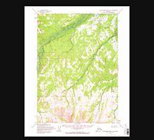 USGS TOPO Map Alaska AK Taylor Mountains C-6 359867 1954 63360 Unisex T-Shirt