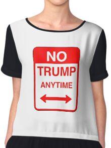 No Trump Anytime Chiffon Top