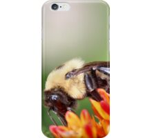 Fuzzy Bumble Bee iPhone Case/Skin
