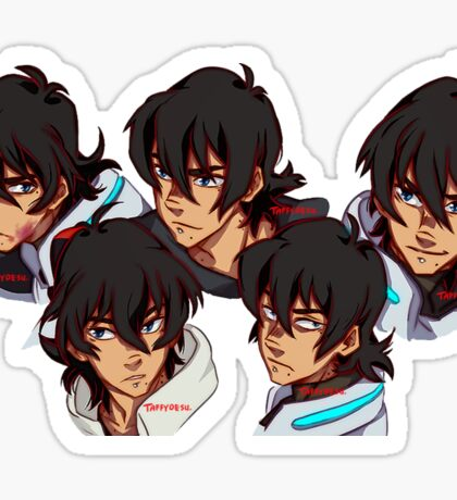LIP PEIRCED + BEAUTY MARKS KEITH (STICKER) Sticker