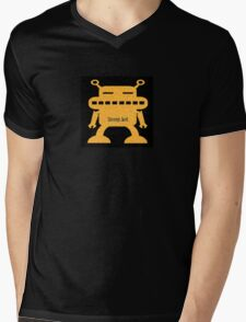 Sunny-bot Mens V-Neck T-Shirt