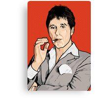 Al Pacino Scarface Pop Art Canvas Print