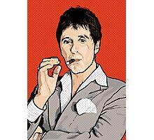 Al Pacino Scarface Pop Art Photographic Print