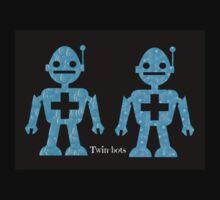Twin-bots One Piece - Short Sleeve