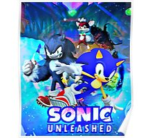Sonic & Werehog Poster