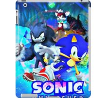 Sonic & Werehog iPad Case/Skin