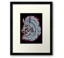 Nightmare Werewolf Framed Print