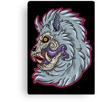 Nightmare Werewolf Canvas Print