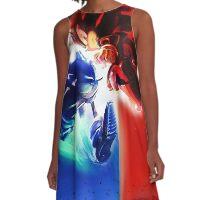 Sonic vs Shadow A-Line Dress