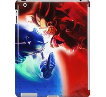 Sonic vs Shadow iPad Case/Skin
