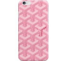 Goyard Perfect Case pink iPhone Case/Skin