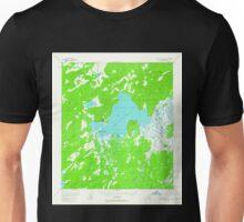 USGS TOPO Map Alaska AK Mount McKinley D-5 357813 1953 63360 Unisex T-Shirt