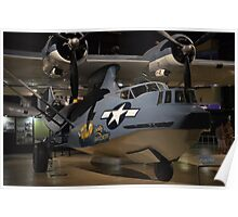 """Consolidated OA-10A """"Catalina"""" PBY Poster"""