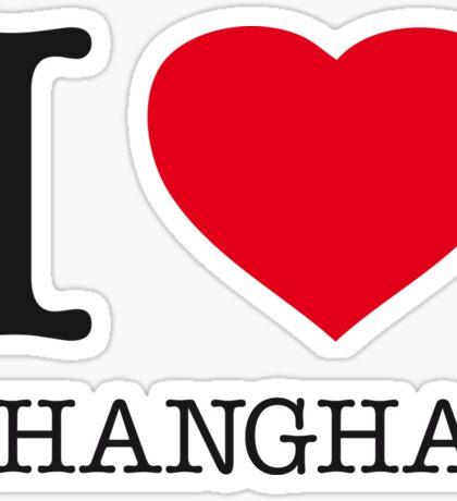 I ♥ SHANGHAI Sticker