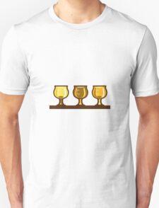 Beer Flight Glass Retro Unisex T-Shirt