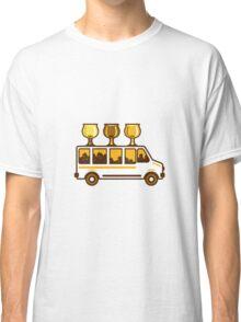 Beer Flight Glass Van Retro Classic T-Shirt