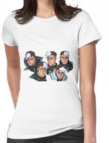 TAKASHI SHIROGANE (STICKER) Womens Fitted T-Shirt