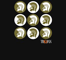 TROJAN RECORDS CAMO COLOR Womens Fitted T-Shirt