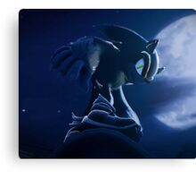 Sonic Werehog Canvas Print