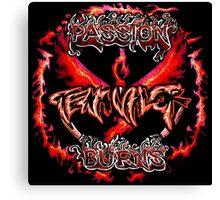 Team Valor: Passion Burns Canvas Print