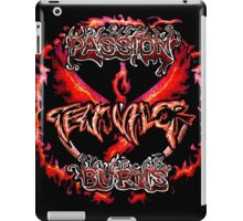 Team Valor: Passion Burns iPad Case/Skin