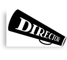 DIRECTOR - FILM Canvas Print