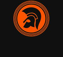 TROJAN RECORDS WITH CIRCLE Womens Fitted T-Shirt
