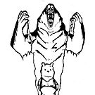 Winnie the Pooh inner Bear  by siriusreno