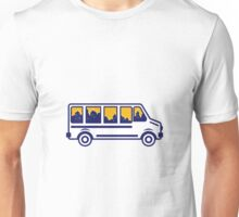 Van City Skyline Retro Unisex T-Shirt